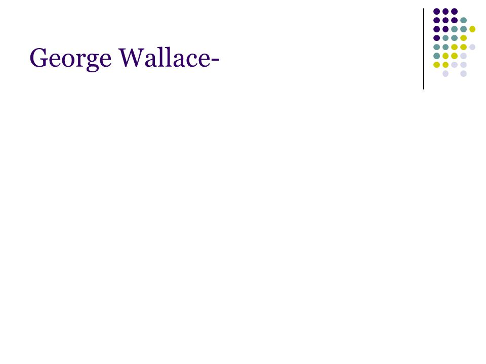 George Wallace-