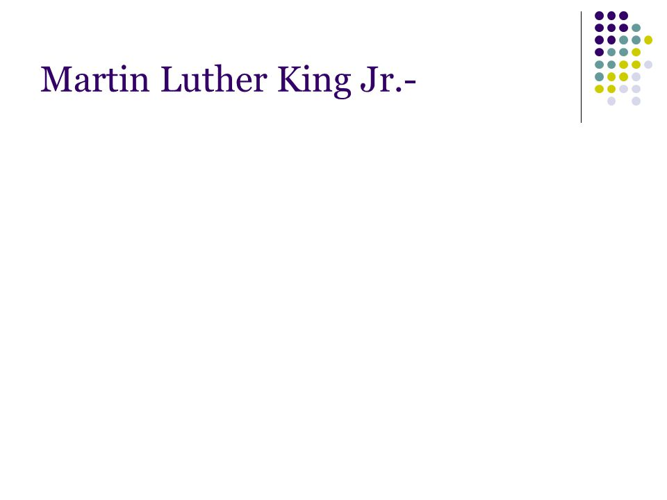 Martin Luther King Jr.-
