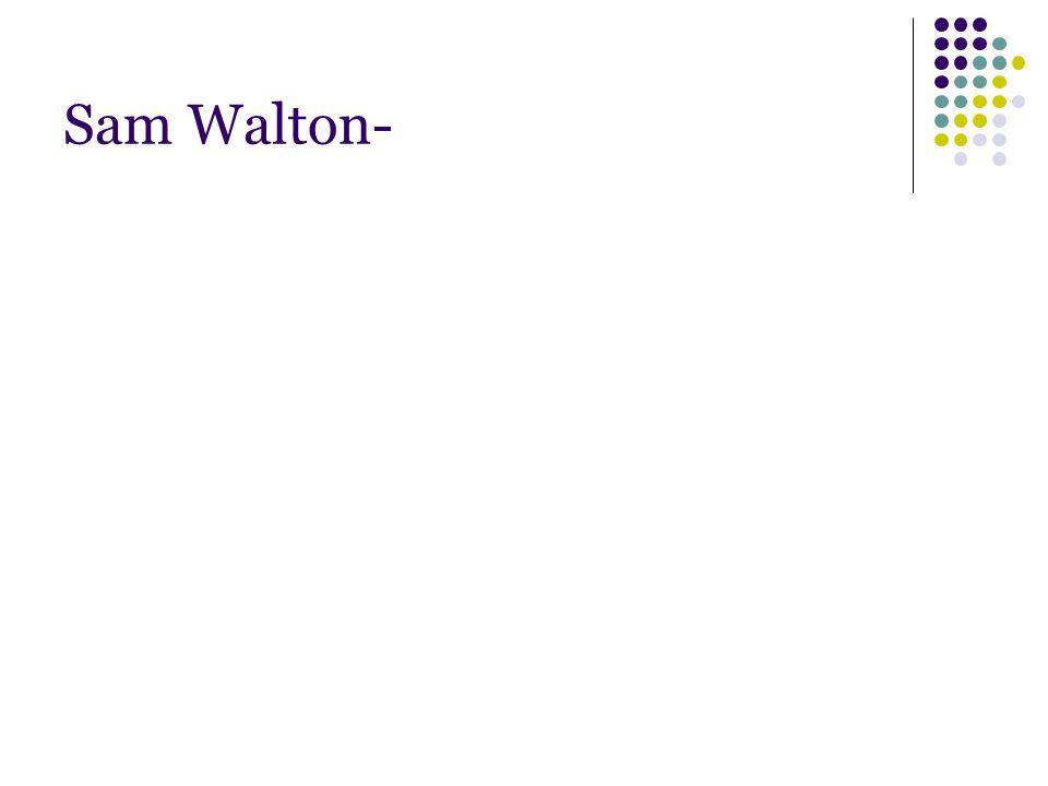 Sam Walton-