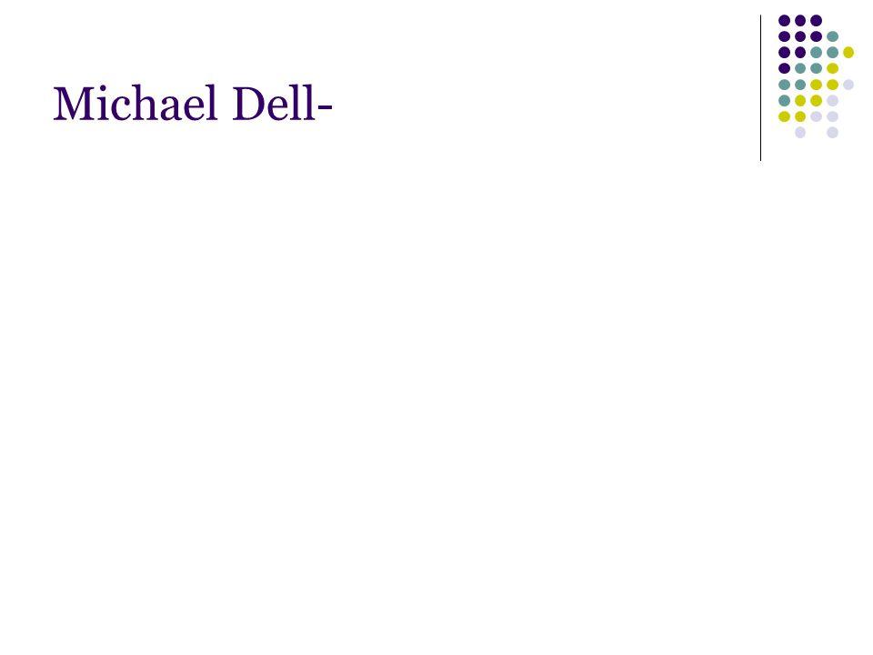 Michael Dell-