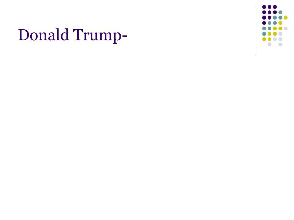 Donald Trump-