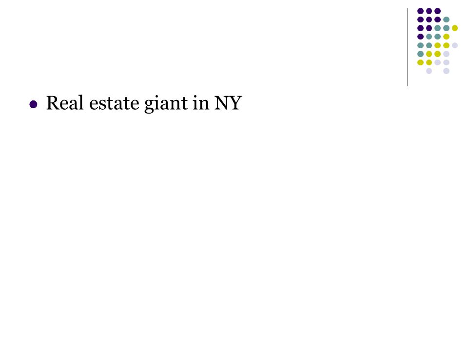 Real estate giant in NY