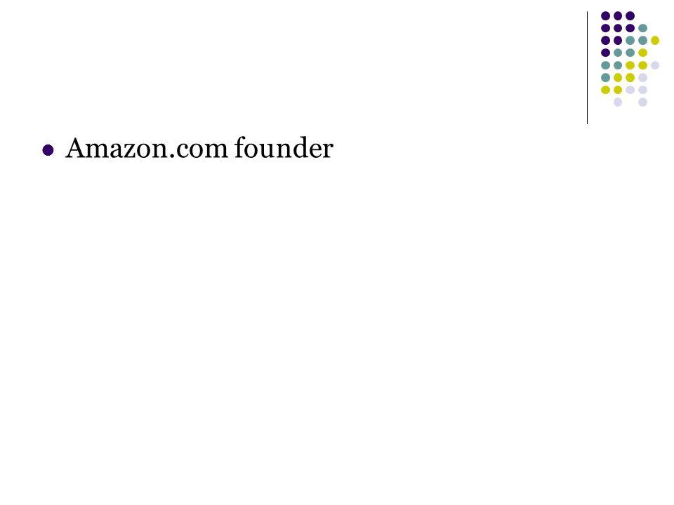 Amazon.com founder