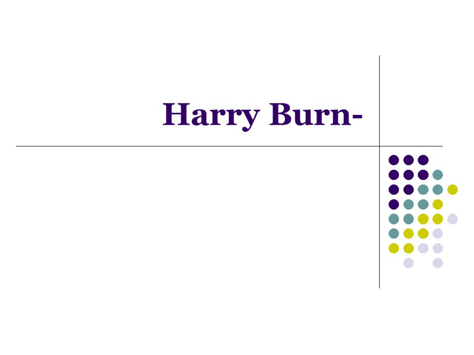 Harry Burn-
