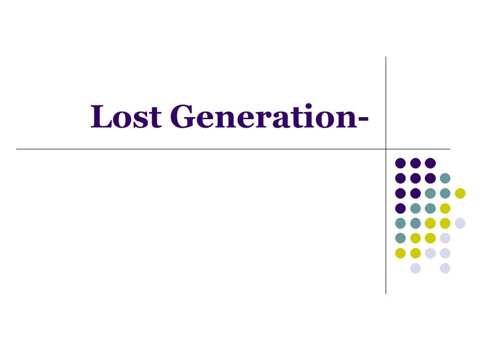 Lost Generation-