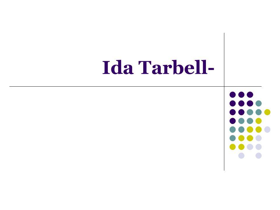 Ida Tarbell-