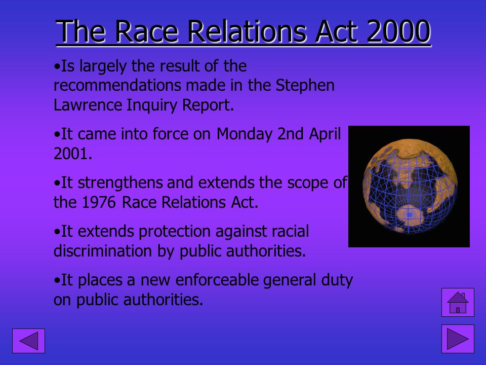 Victimisation: It occurs if you are treated less favourably because you have complained about racial discrimination or supported someone who has. For