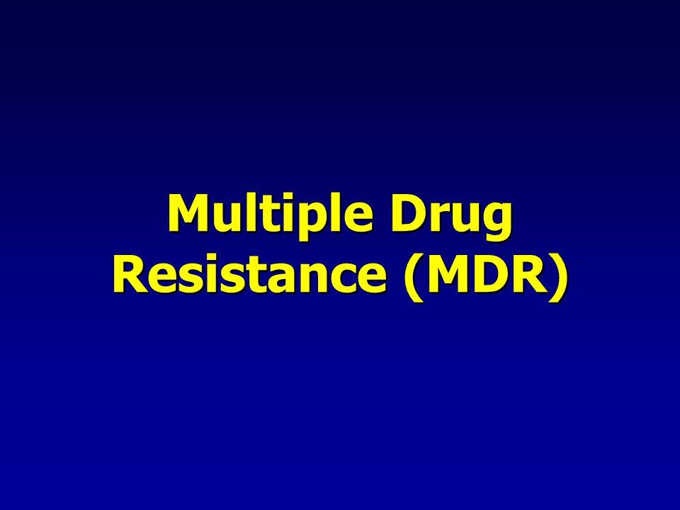 Multiple Drug Resistance (MDR)