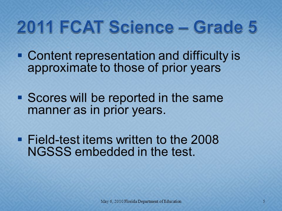  This assessment will be a computer-based test administered the last few weeks of the course.