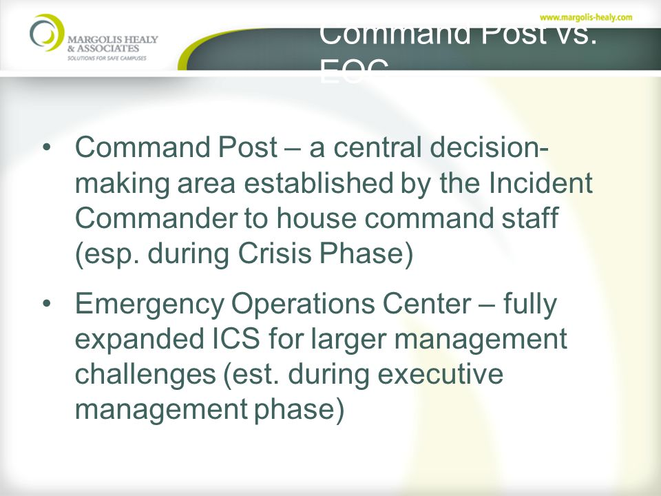 Command Post vs.