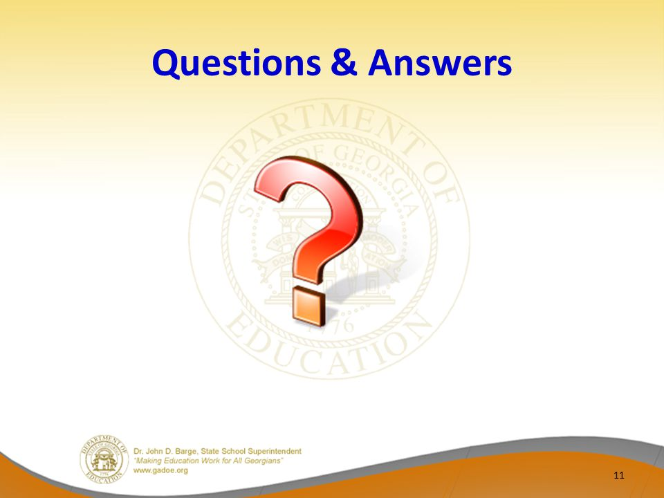 Questions & Answers 11