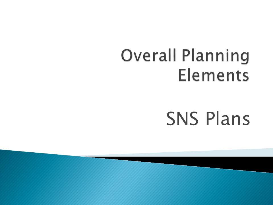 SNS Plans