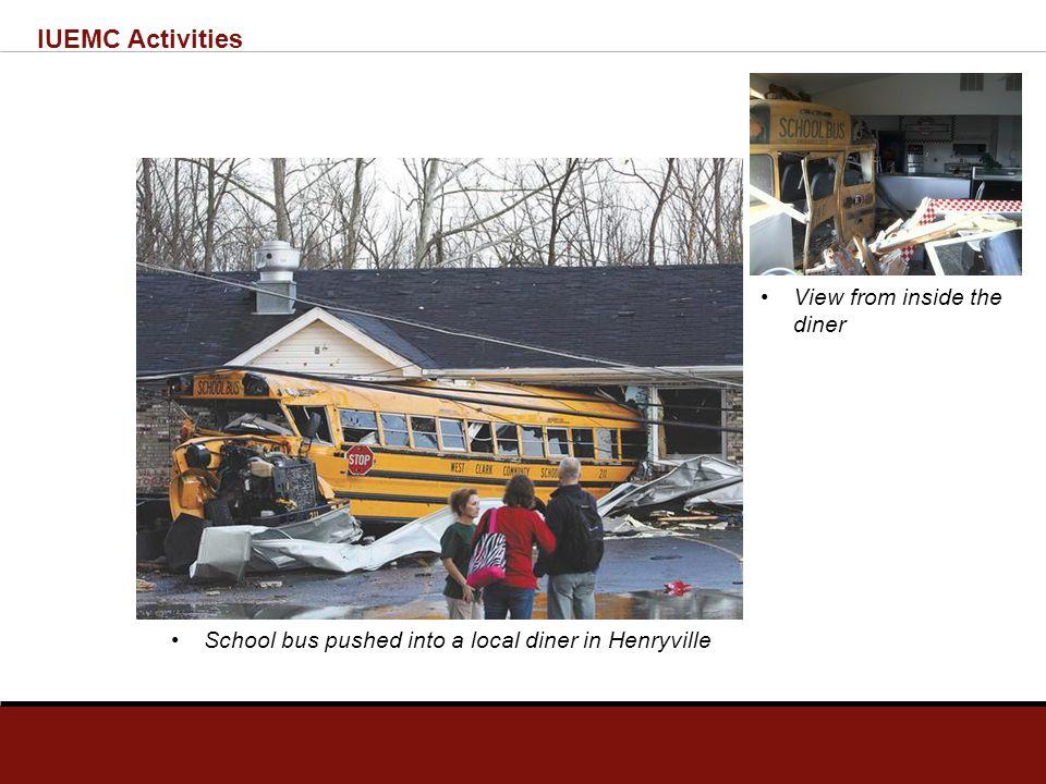 IUEMC Activities Henryville High School Complex – Received brunt of EF-4 damage
