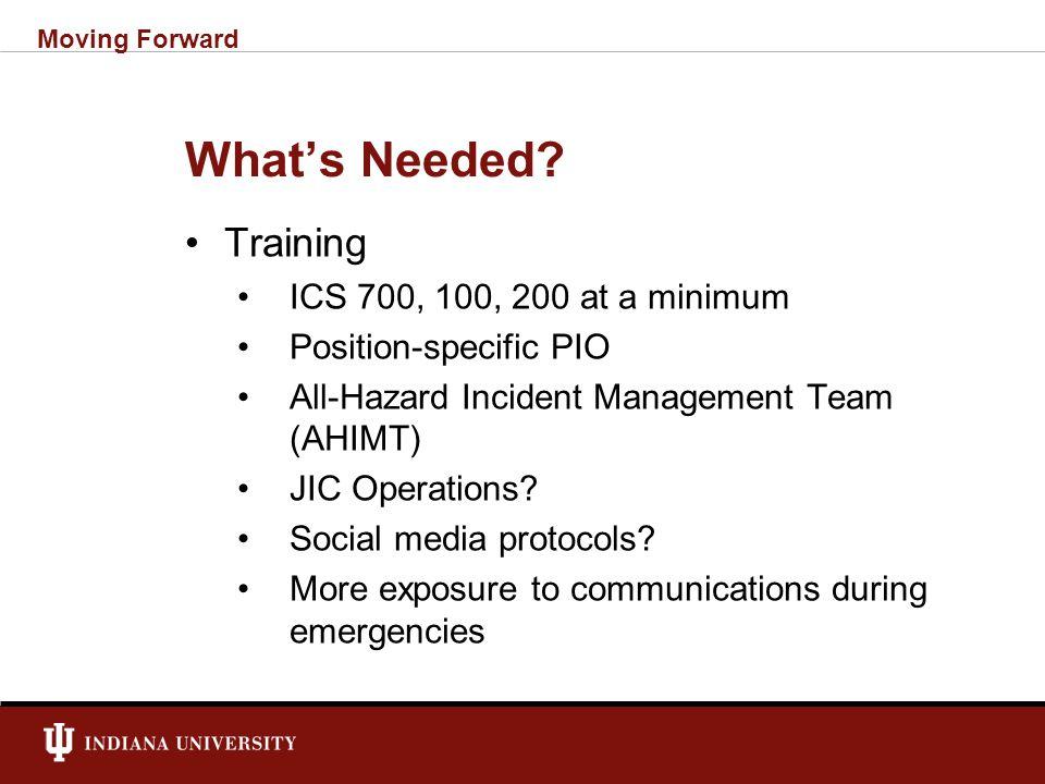 New Teams/Organizations PIO ESF 15 JIC Blog kill teams Moving Forward