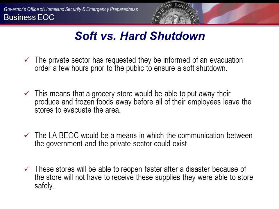 Business EOC Soft vs.