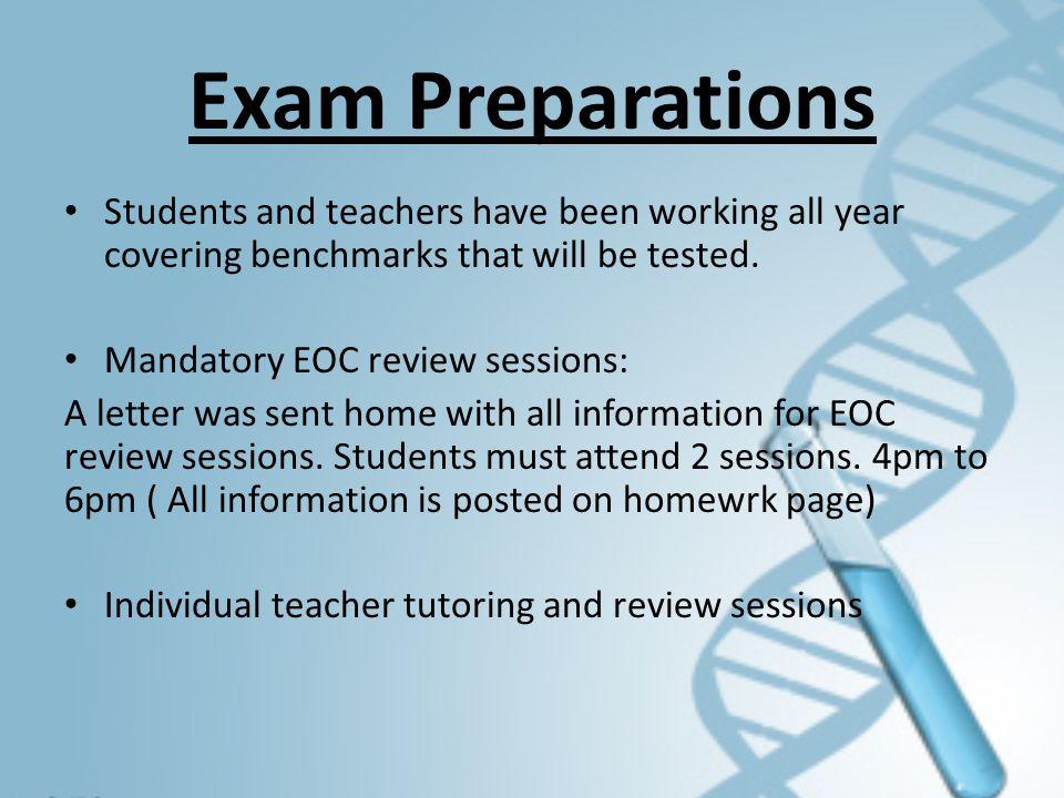 Test Administration Information The Biology 1 EOC Assessment is delivered via a computer-based test (CBT) platform called TestNav.