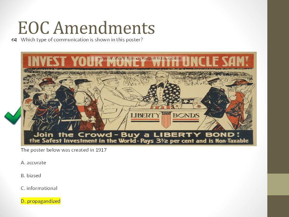 EOC Amendments