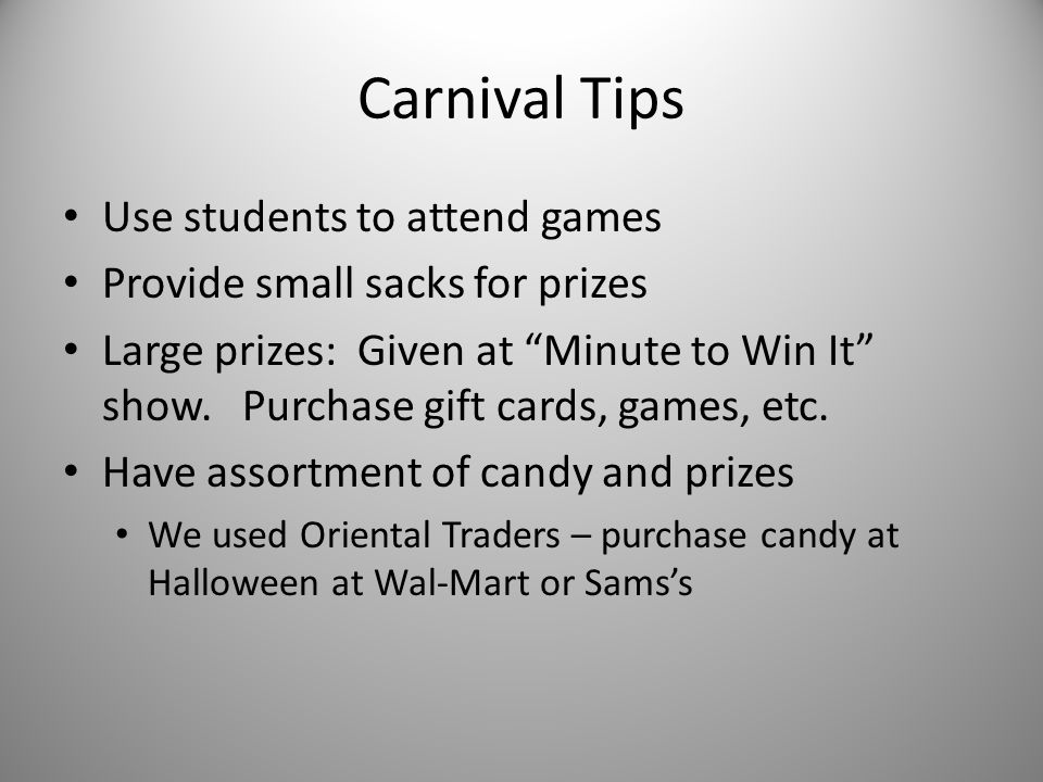 6 th Grade – Carnival of Careers 6th Grade students from all feeder schools attend either AM or PM session.
