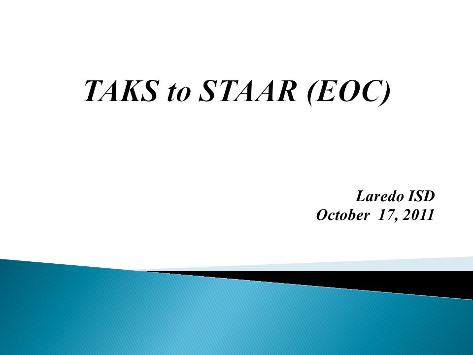 Laredo ISD October 17, 2011