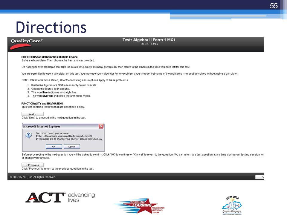 Choose Correct Test 54