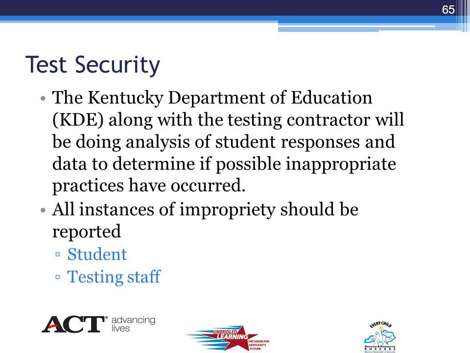64 Test Control Code