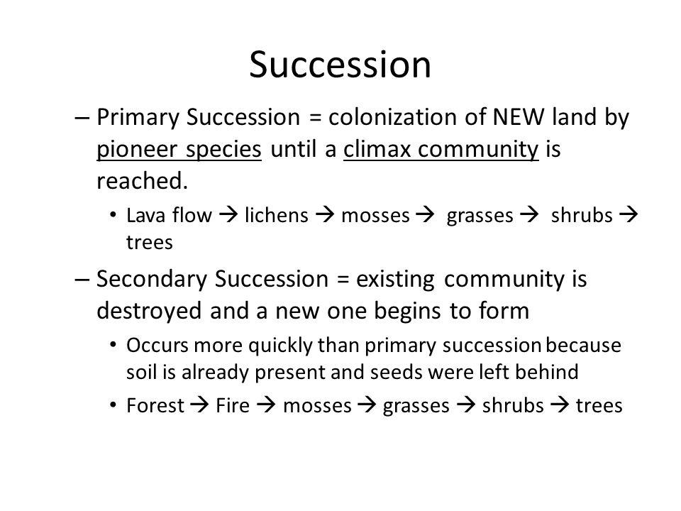 Ecosystem Relationships – Niche vs.