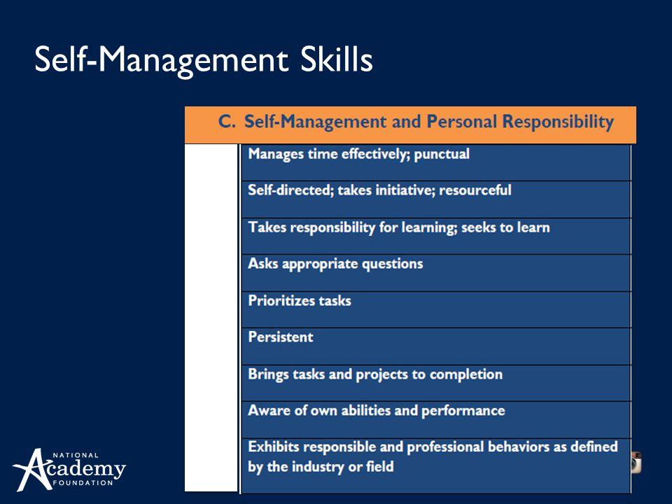 naf.org Self-Management Skills