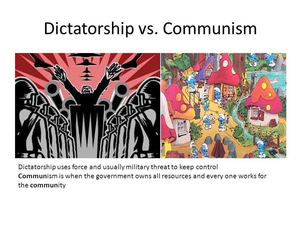 Dictatorship vs.