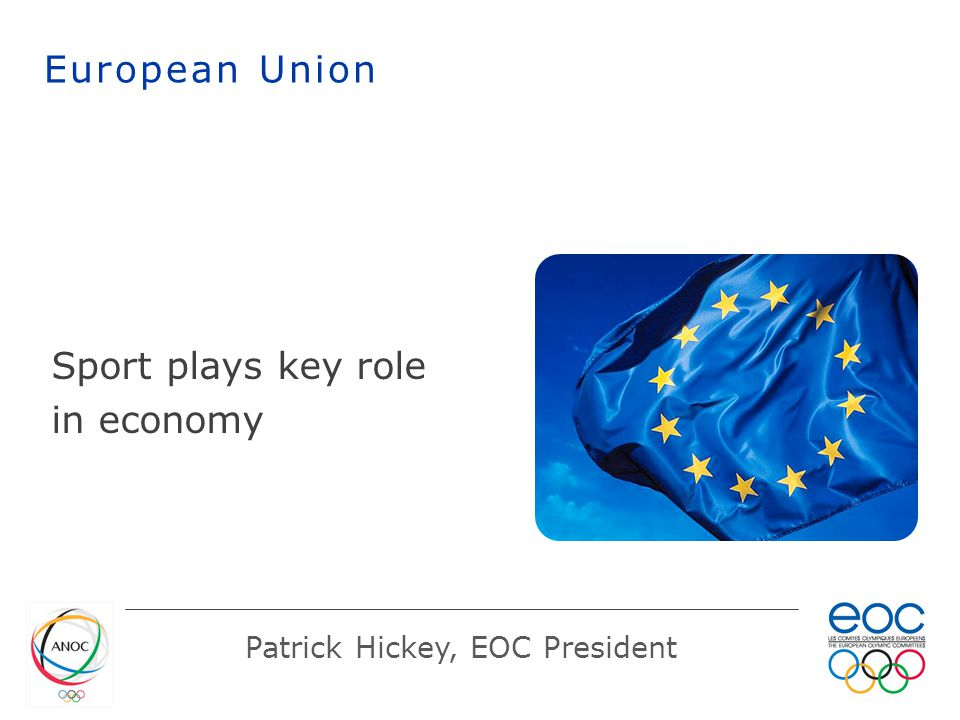 Sport plays key role in economy European Union