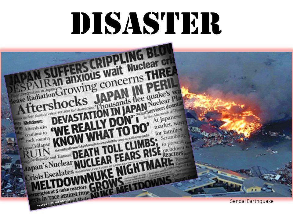 Disaster Sendai Earthquake Copyright ©2011 iStockphoto LP