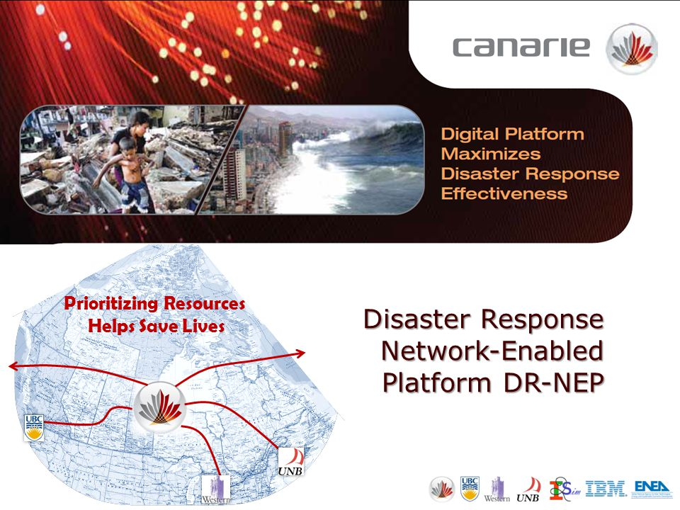 Disaster Response Network-Enabled Platform DR-NEP Prioritizing Resources Helps Save Lives
