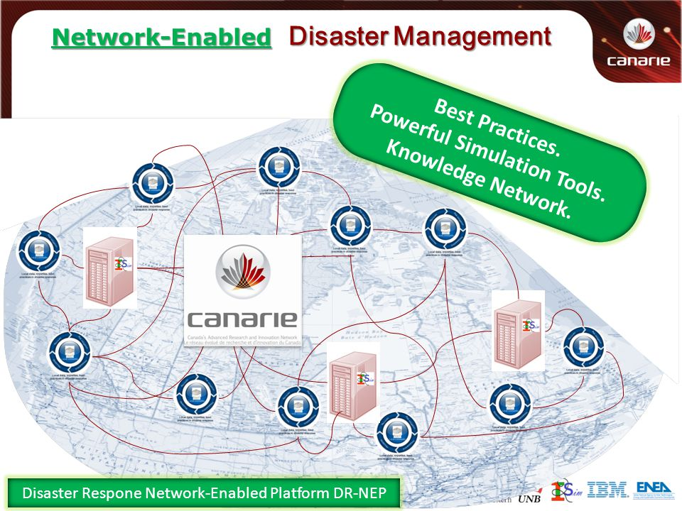 Disaster Management Best Practices. Powerful Simulation Tools.