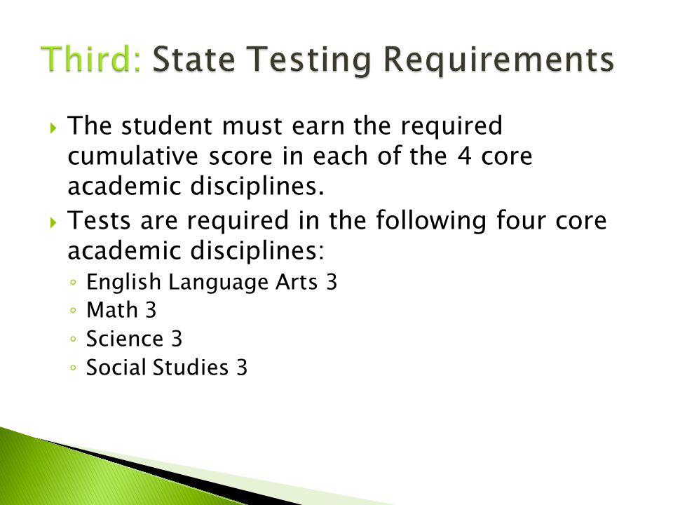 Typical HS Course Sequence EnglishMathScienceSoc.Std.
