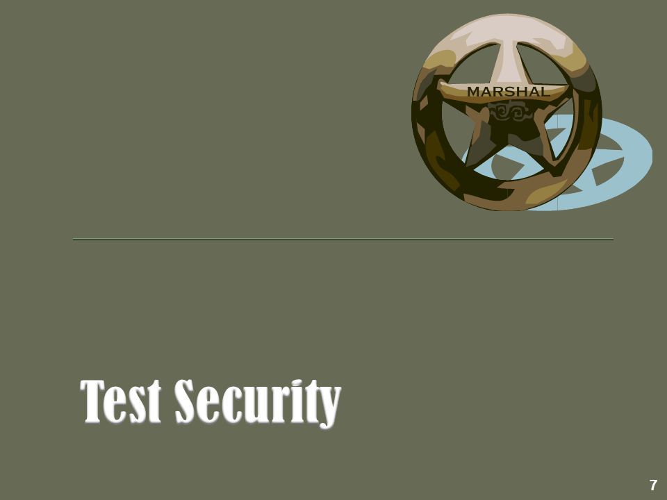  All testing personnel must receive training before each testing cycle.