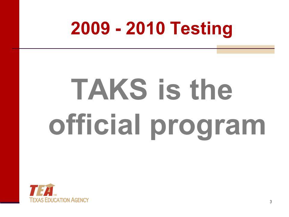2009 - 2010 Testing EOC is under development 4