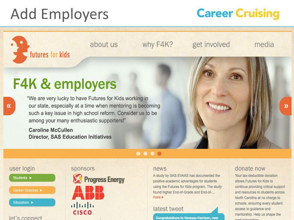 Add Employers