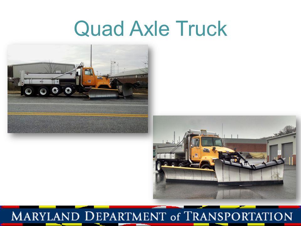 Quad Axle Truck