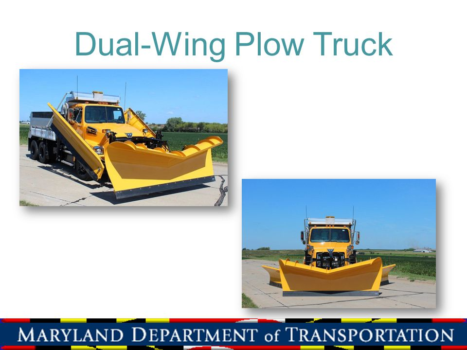 Dual-Wing Plow Truck