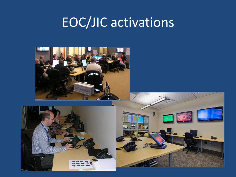 EOC/JIC activations