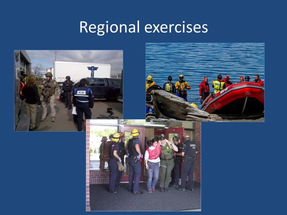 Regional exercises