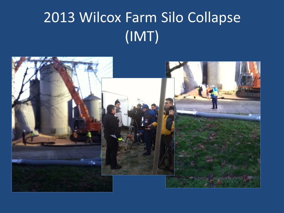 2013 Wilcox Farm Silo Collapse (IMT)