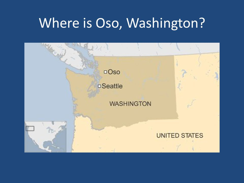 Where is Oso, Washington?