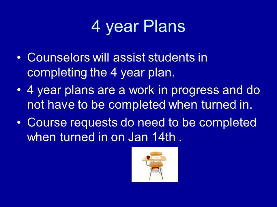 Registration Counselors visit classrooms-Jan. 7 Jan.