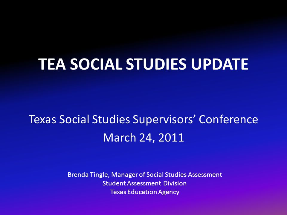 STAAR March 201112 Texas Education Agency Student Assessment Division Readiness Standards  Encompass 30–40% of the eligible TEKS  Will make up 60–65% of the assessment Supporting Standards  Encompass 60–70% of the eligible TEKS  Will make up 35–40% of the assessment