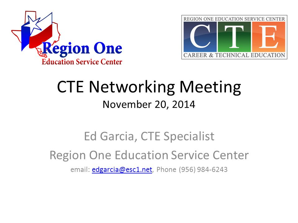CTE 2015 Mini-summer Conference Early spring or early summer.