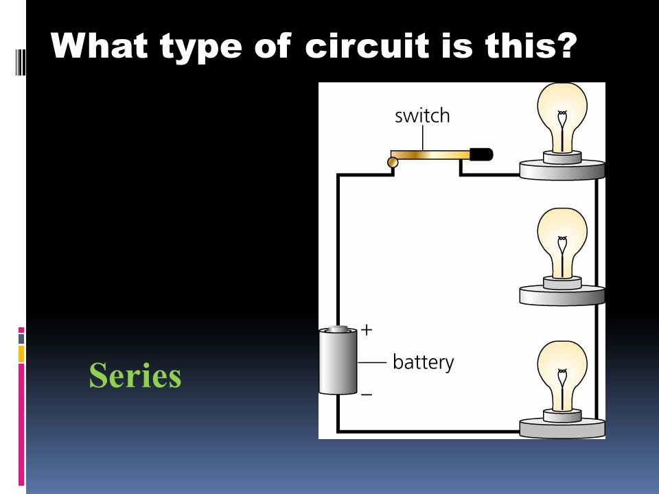 What type of circuit is this Series