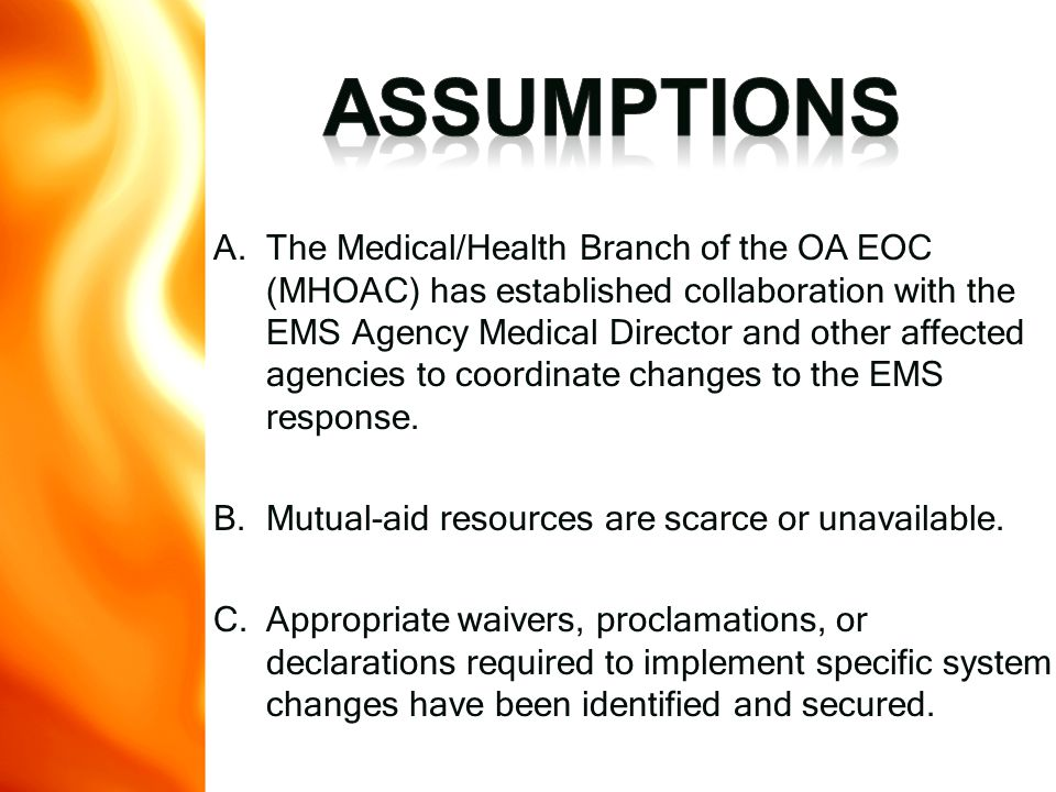 This regulation allows for the use of additional procedures and administration of other medications that are outside the normal scope of practice of the paramedic, with approval of the Director of the EMS Authority and proper training and testing of these skills.