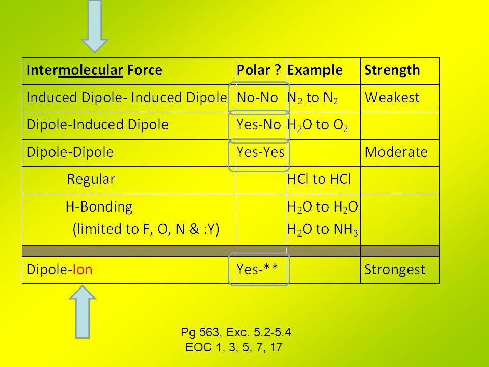 Pg 563, Exc. 5.2-5.4 EOC 1, 3, 5, 7, 17
