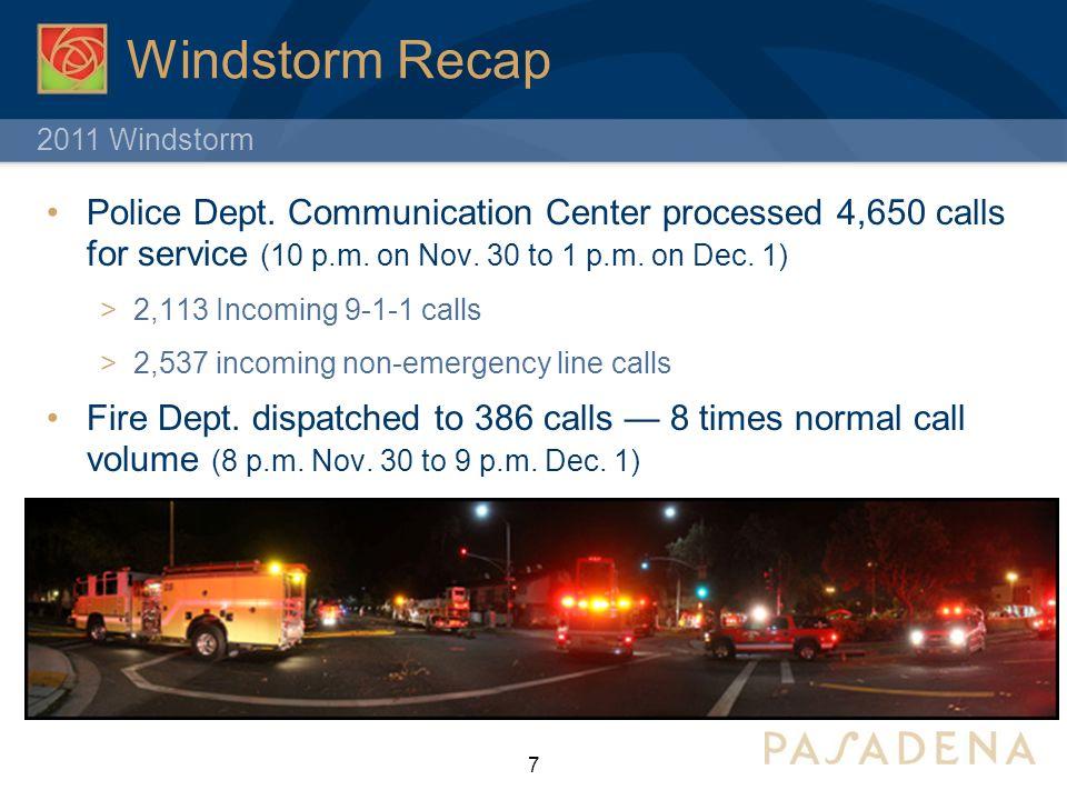 2011 Windstorm 7 Windstorm Recap Police Dept.