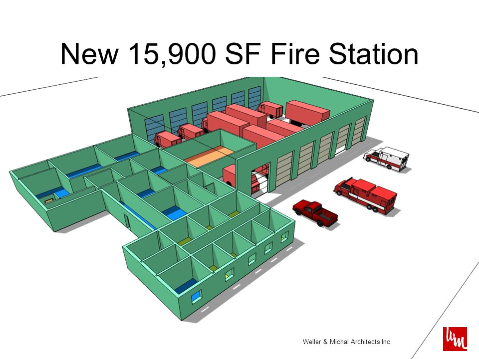 Weller & Michal Architects Inc. New 15,900 SF Fire Station